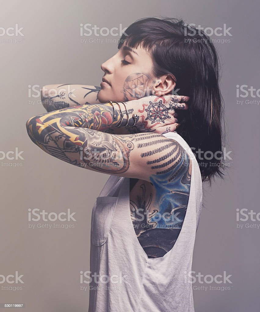 Beautification stock photo