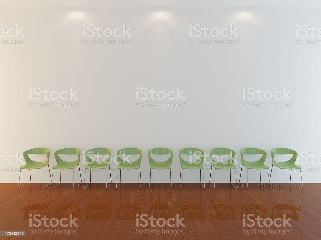 Beautiful 3d interior royalty-free stock photo