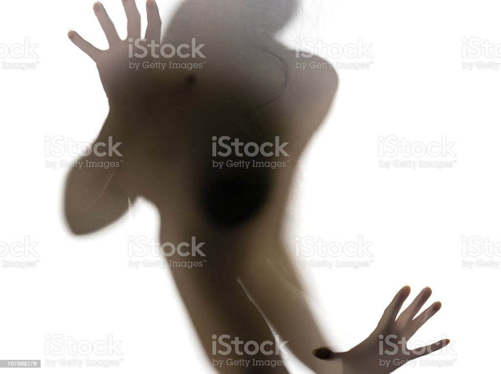 Beautiful Abstract Nude royalty-free stock photo