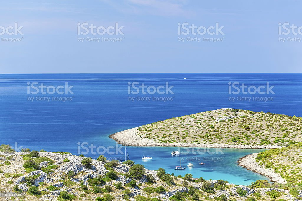 beautiful adriatic royalty-free stock photo