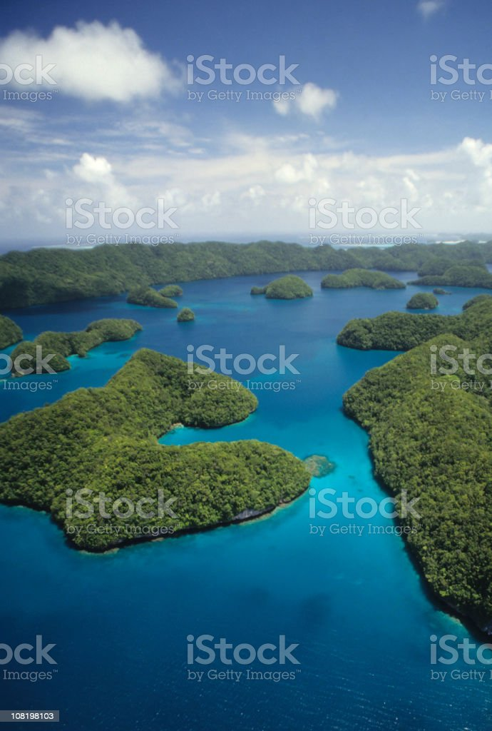 Beautiful Aerial View stock photo