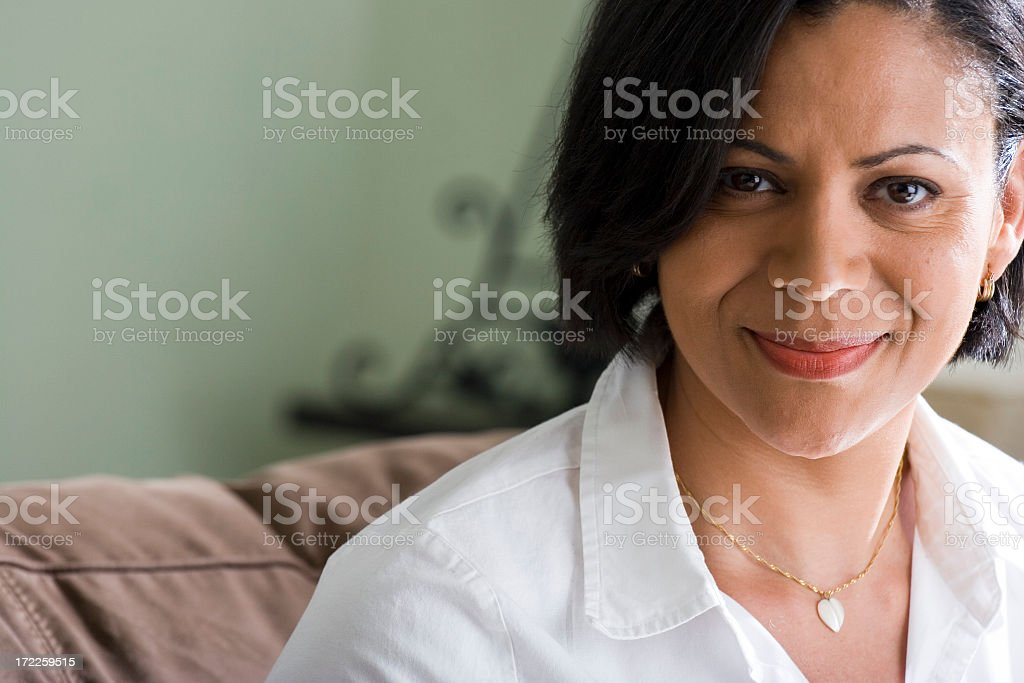Beautiful African American Woman royalty-free stock photo