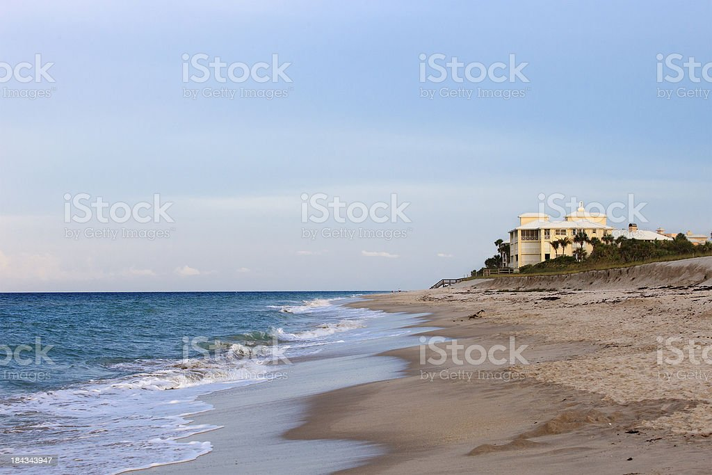 Beautiful afternoon Vero Beach Florida stock photo