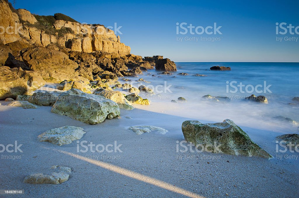 Beautiful Algarve beach royalty-free stock photo