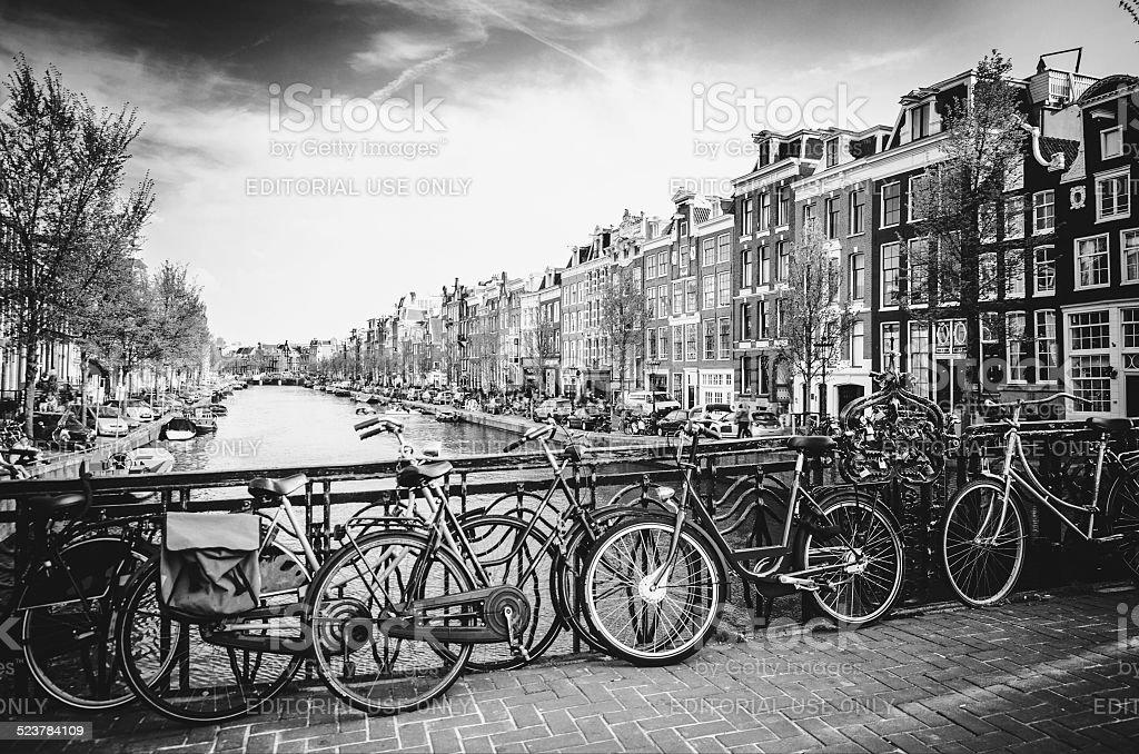 Beautiful Amsterdam stock photo