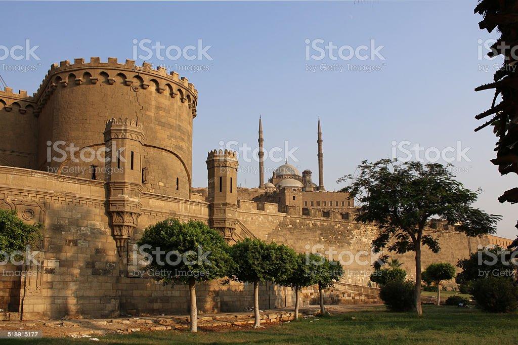 Beautiful Ancient citadel. Cairo. Egypt. stock photo