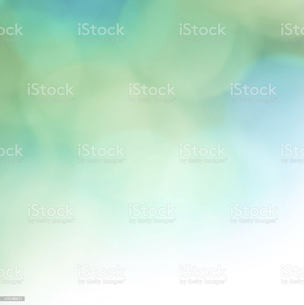 Beautiful and colorful abstract background in blue and green stock photo