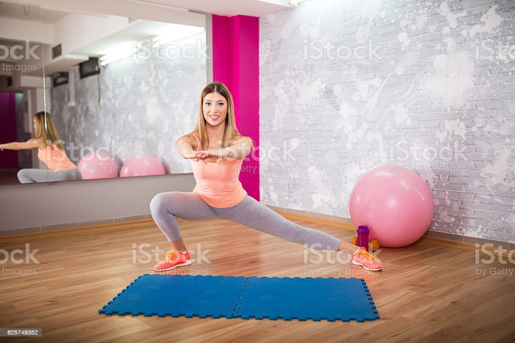 Beautiful and flexible stock photo