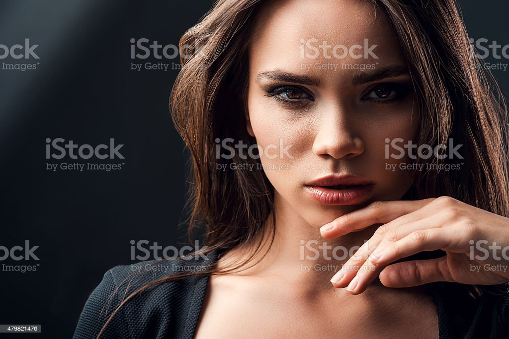 Beautiful and mysterious. stock photo