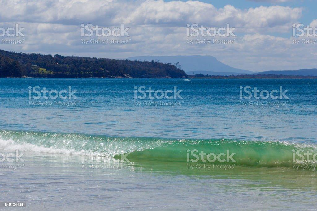 beautiful and natural Adventure Bay stock photo