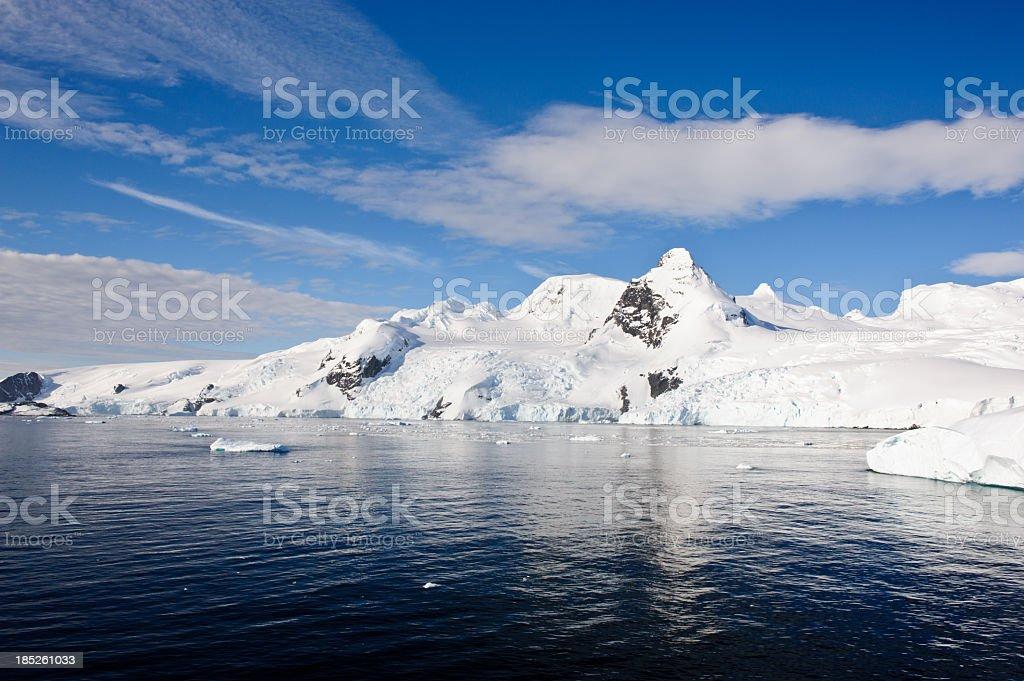 Beautiful Antarctica stock photo