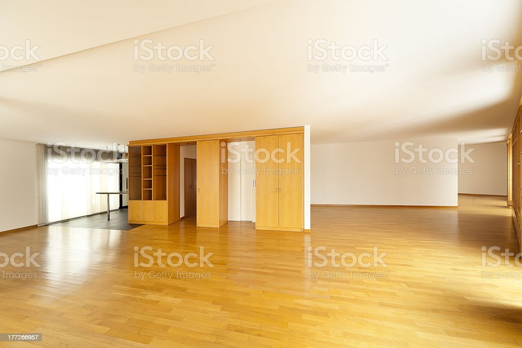 beautiful apartment, hall royalty-free stock photo