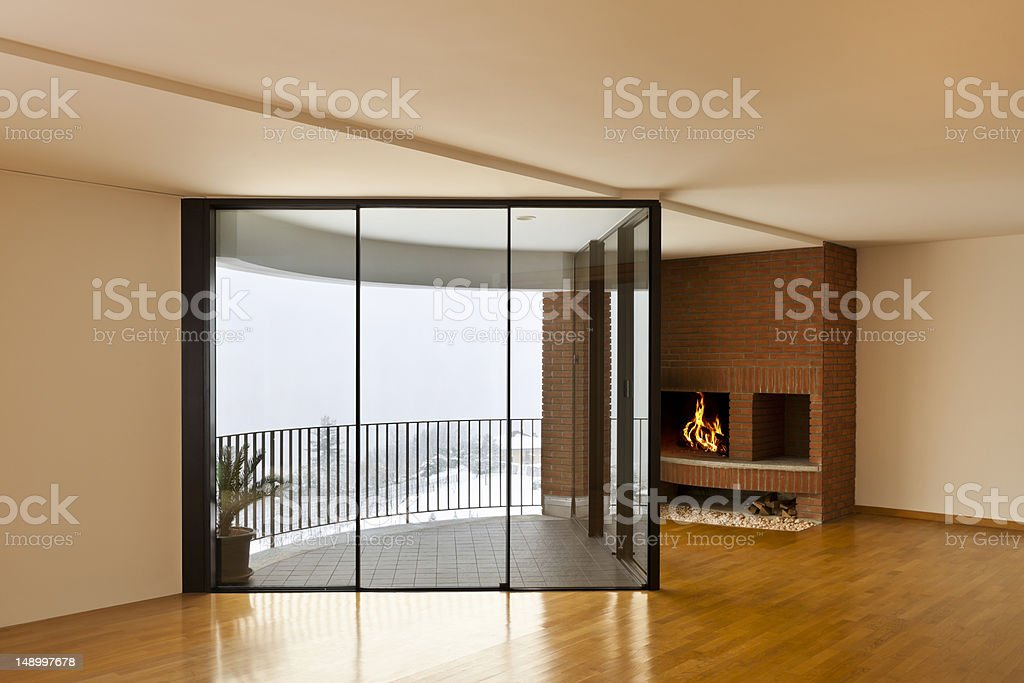 beautiful apartment, interior royalty-free stock photo