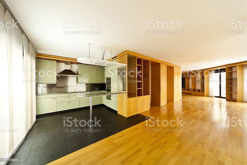 beautiful apartment, interior royalty-free stock photo