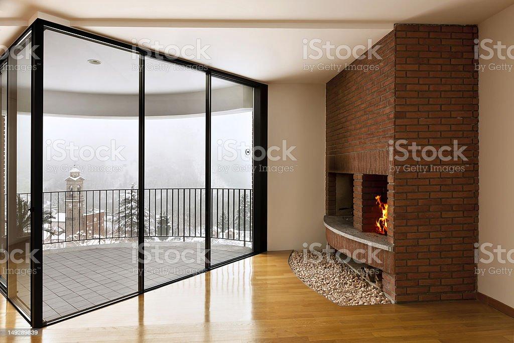 beautiful apartment royalty-free stock photo