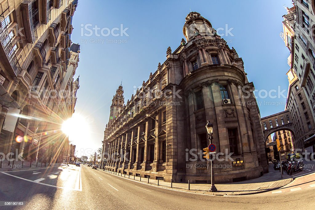 Beautiful architecture details stock photo