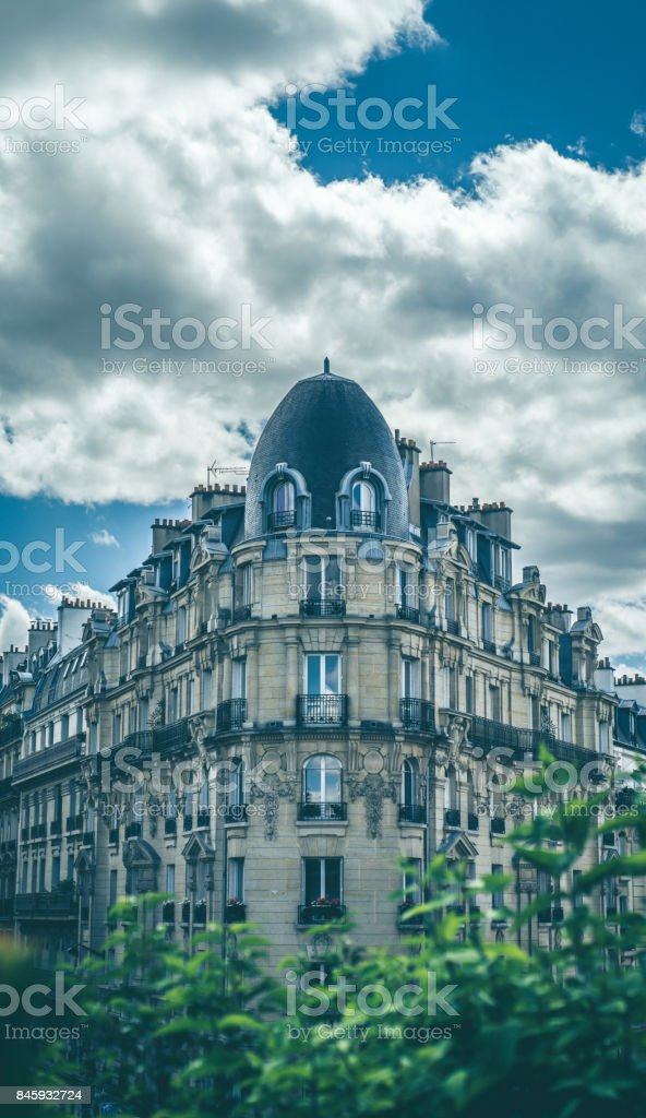Walking down the street of Paris France you will see beautiful...