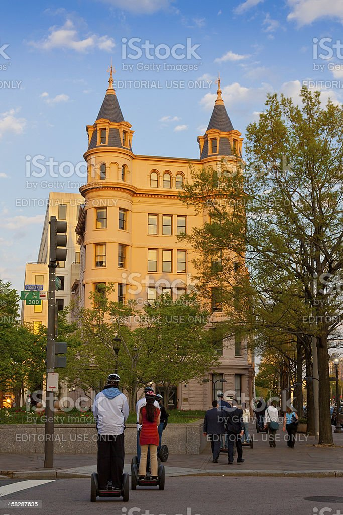 Beautiful Architecture of Washington DC. royalty-free stock photo