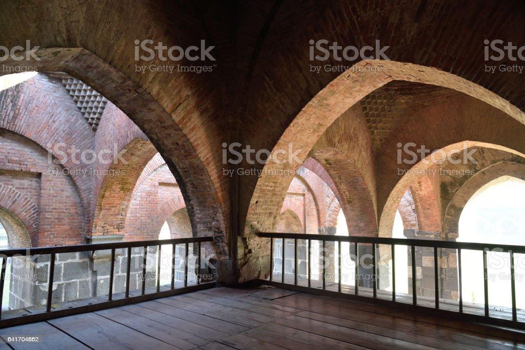 Beautiful architecture stock photo