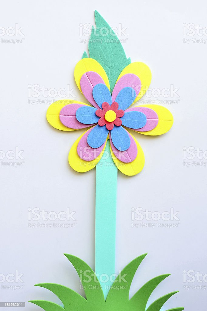 Beautiful artificial flower royalty-free stock photo