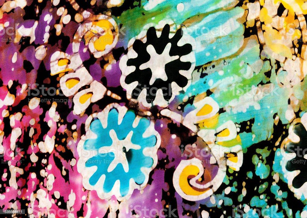 Beautiful artistic pattern royalty-free stock photo