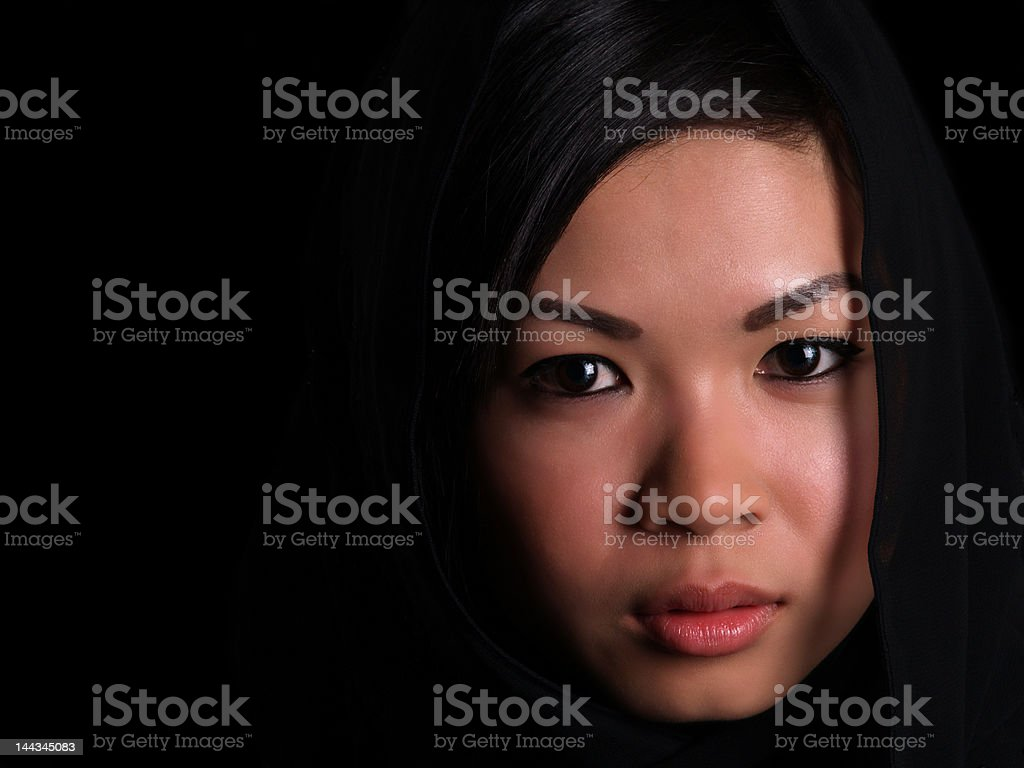 Beautiful Asian girl royalty-free stock photo