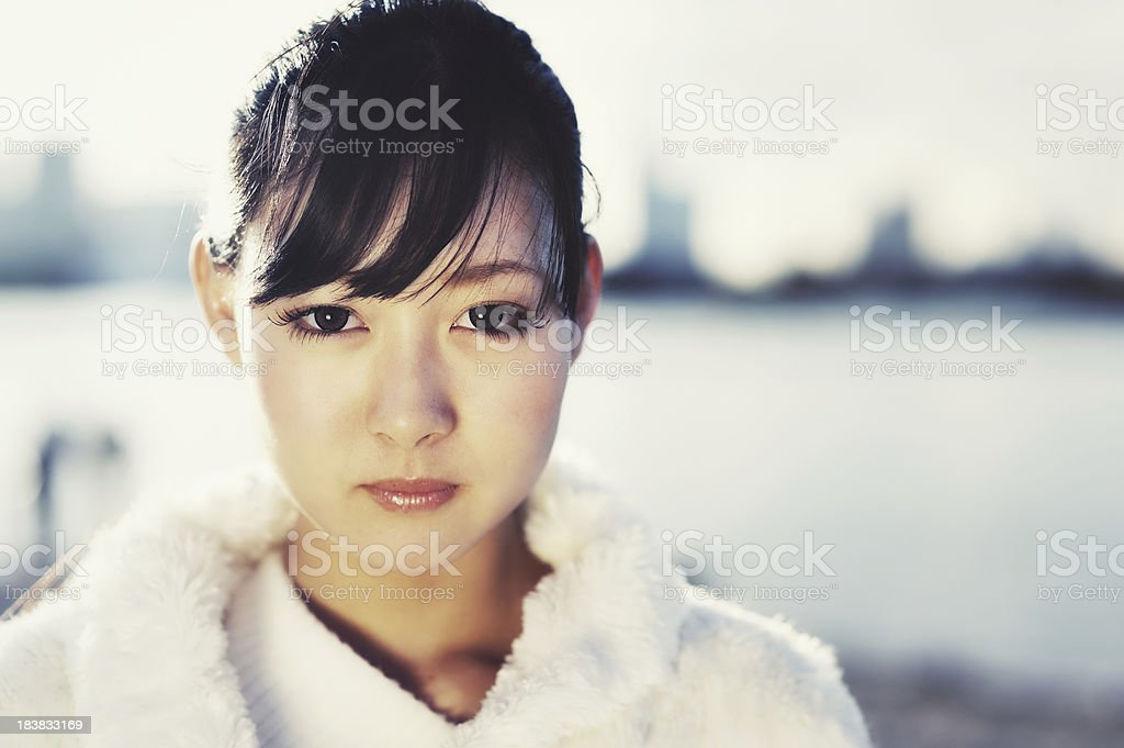 Beautiful Asian Woman royalty-free stock photo