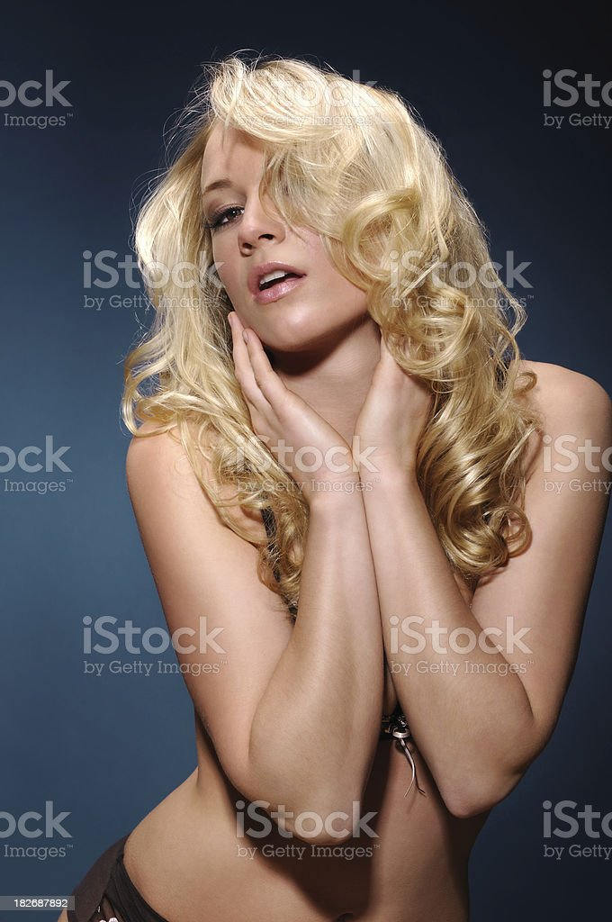 Beautiful Attractive Model royalty-free stock photo
