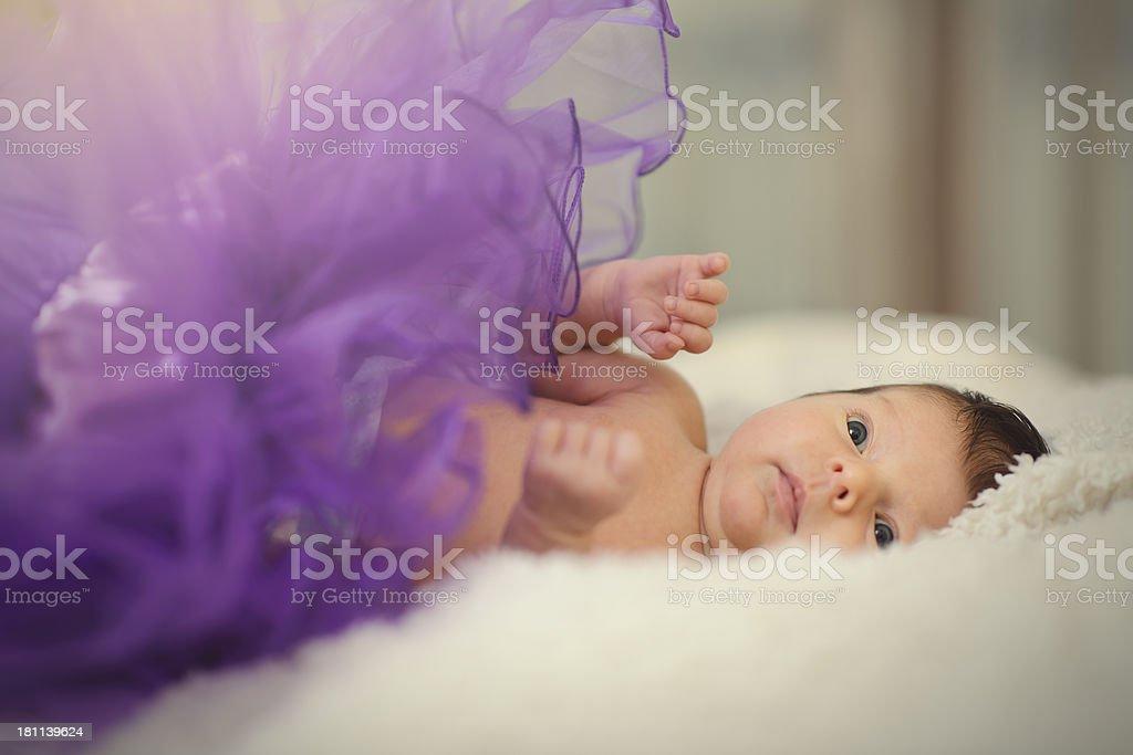 beautiful baby girl royalty-free stock photo