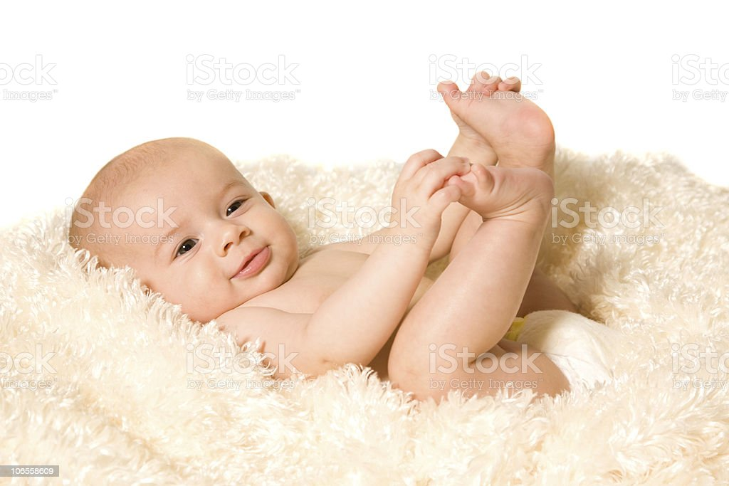 Beautiful Baby Girl Series royalty-free stock photo