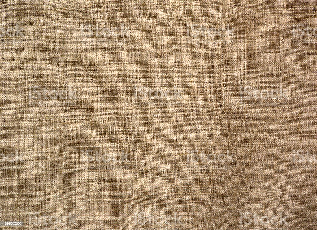 Beautiful background from a linen fabric. royalty-free stock photo