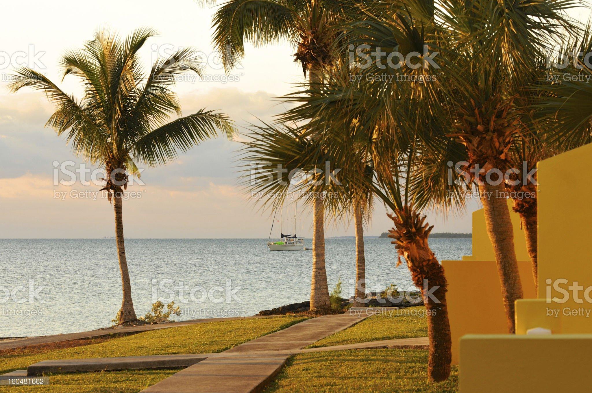 Beautiful Bahama Sunrise royalty-free stock photo