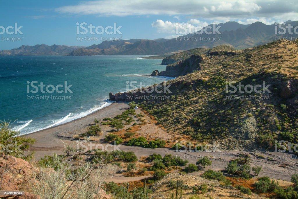 Beautiful Baja stock photo