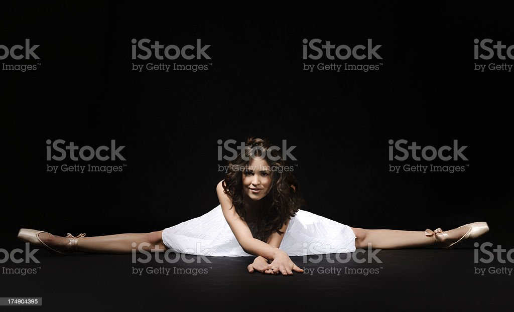 beautiful ballet dancer royalty-free stock photo