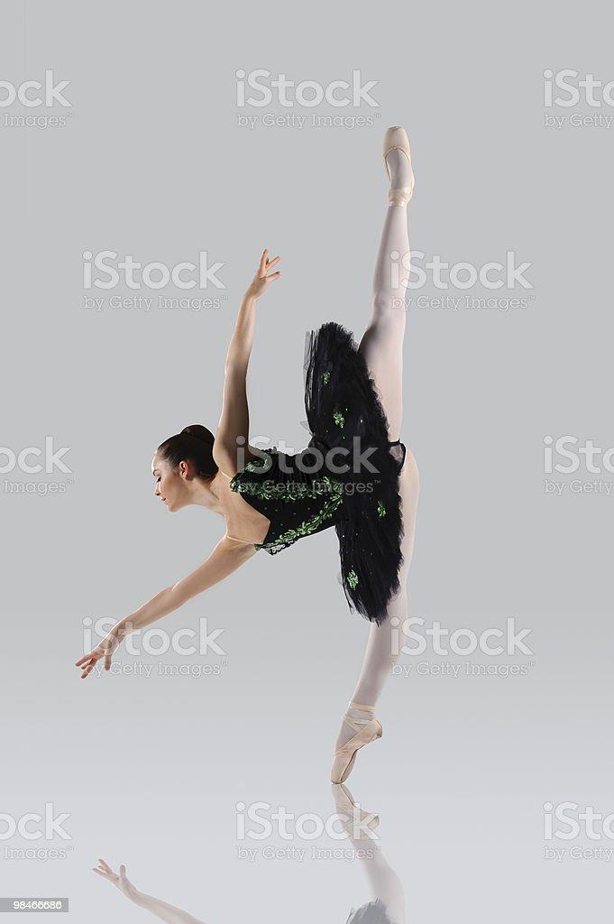 Beautiful ballet stock photo