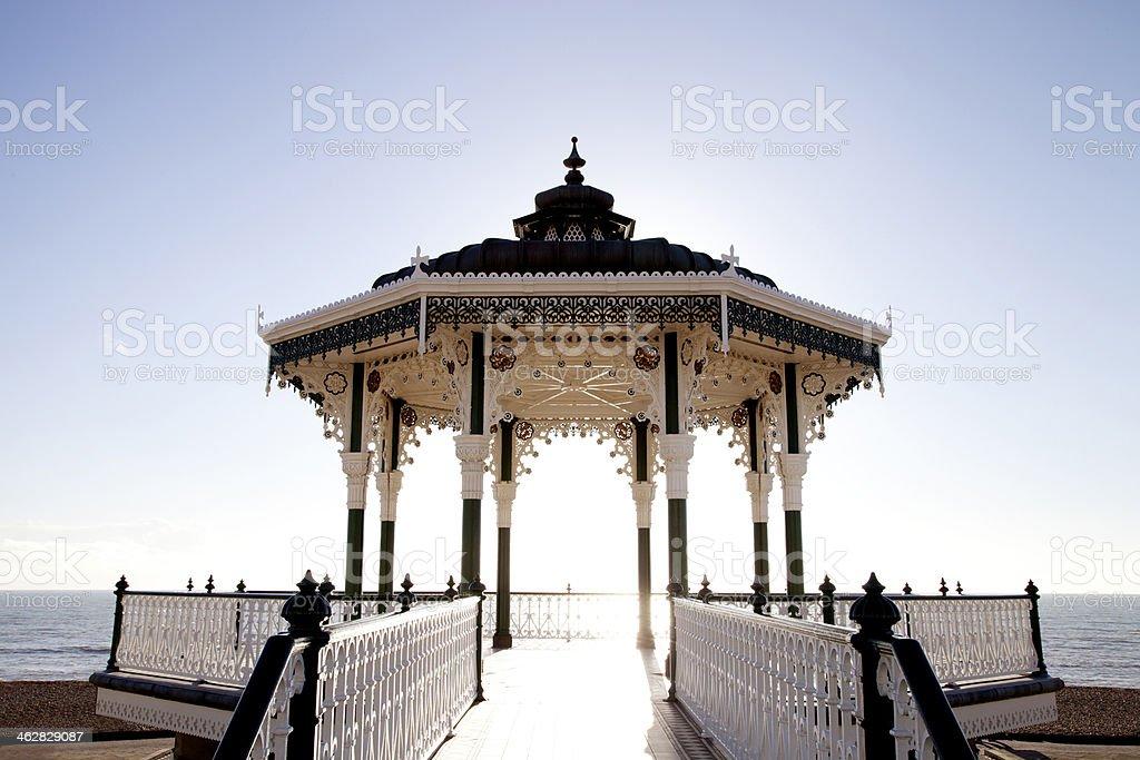 Beautiful bandstand stock photo