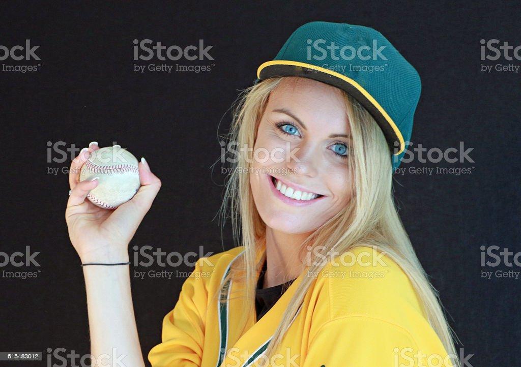 Beautiful Baseball stock photo