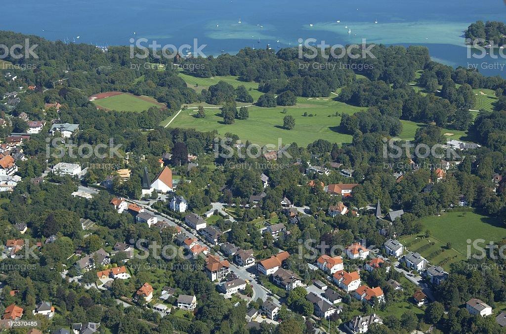 beautiful Bavarian landscape royalty-free stock photo