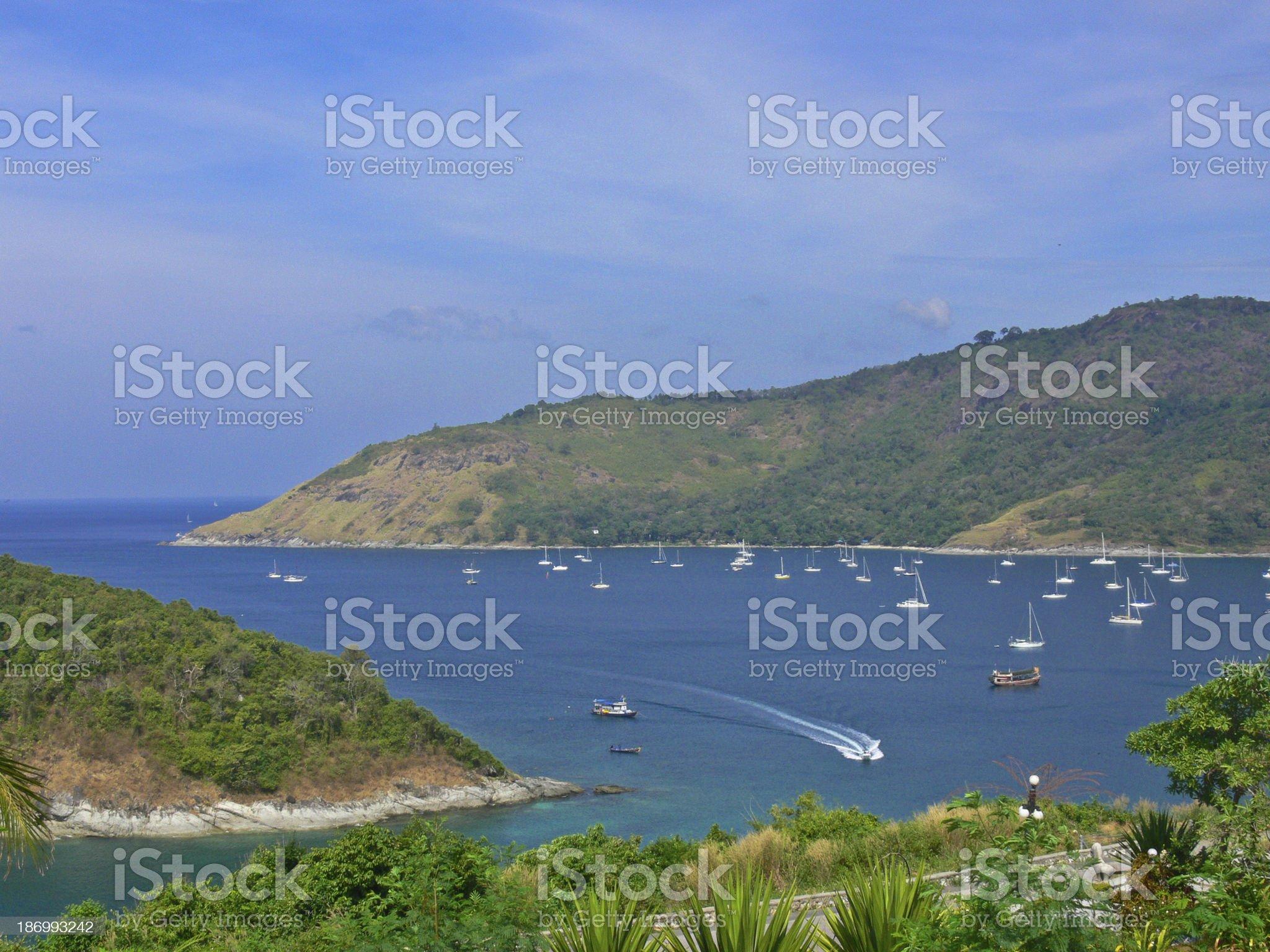 beautiful bay in Phuket,Thailand royalty-free stock photo