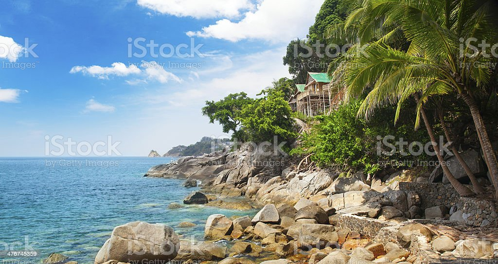Beautiful bay. Thailand royalty-free stock photo