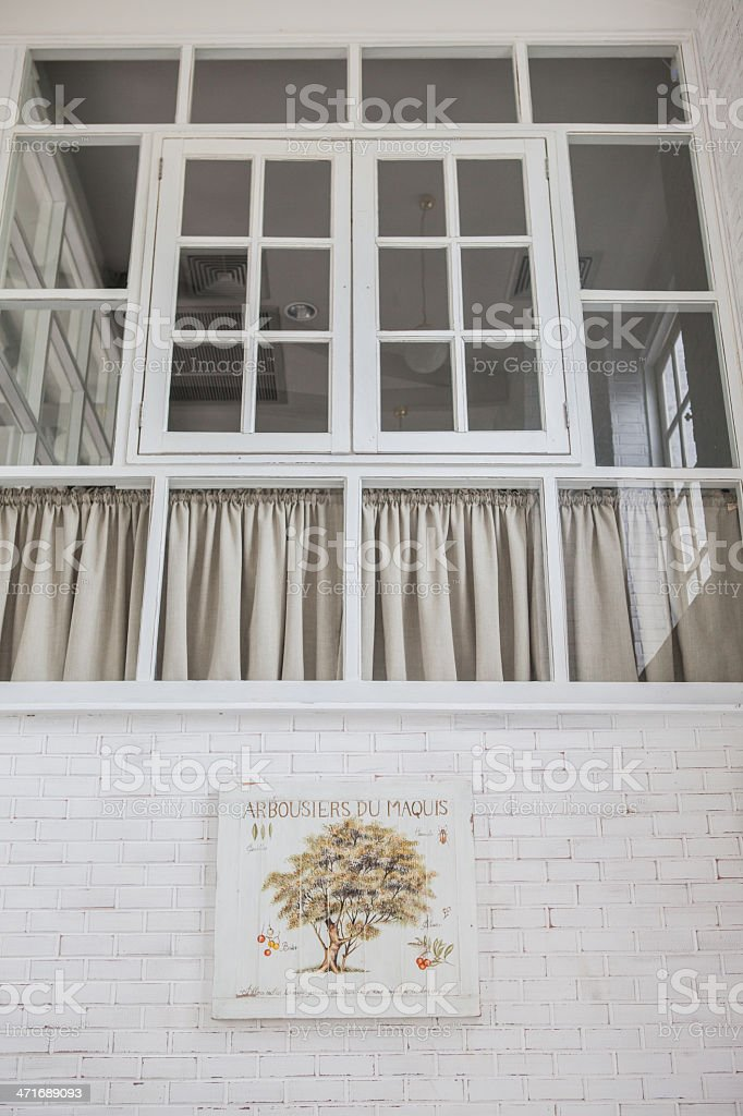 Beautiful bay window royalty-free stock photo