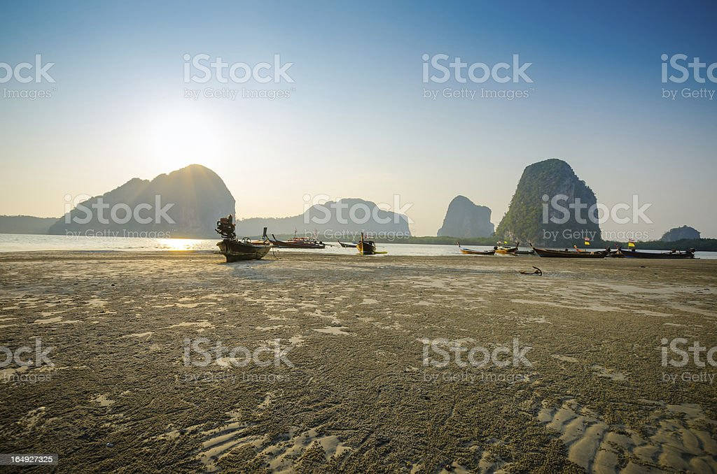Beautiful beach and tropical sea in Thailand asia. royalty-free stock photo