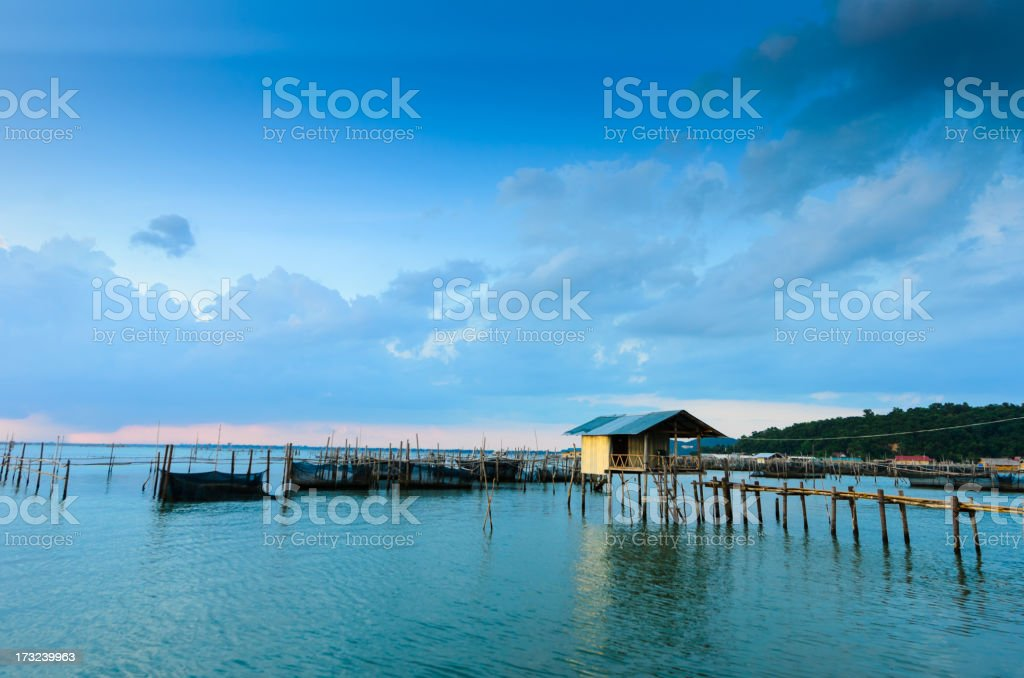 Beautiful beach and tropical sea in thailand stock photo