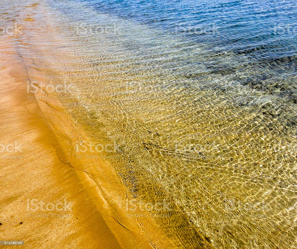 Beautiful beach of Red sea stock photo