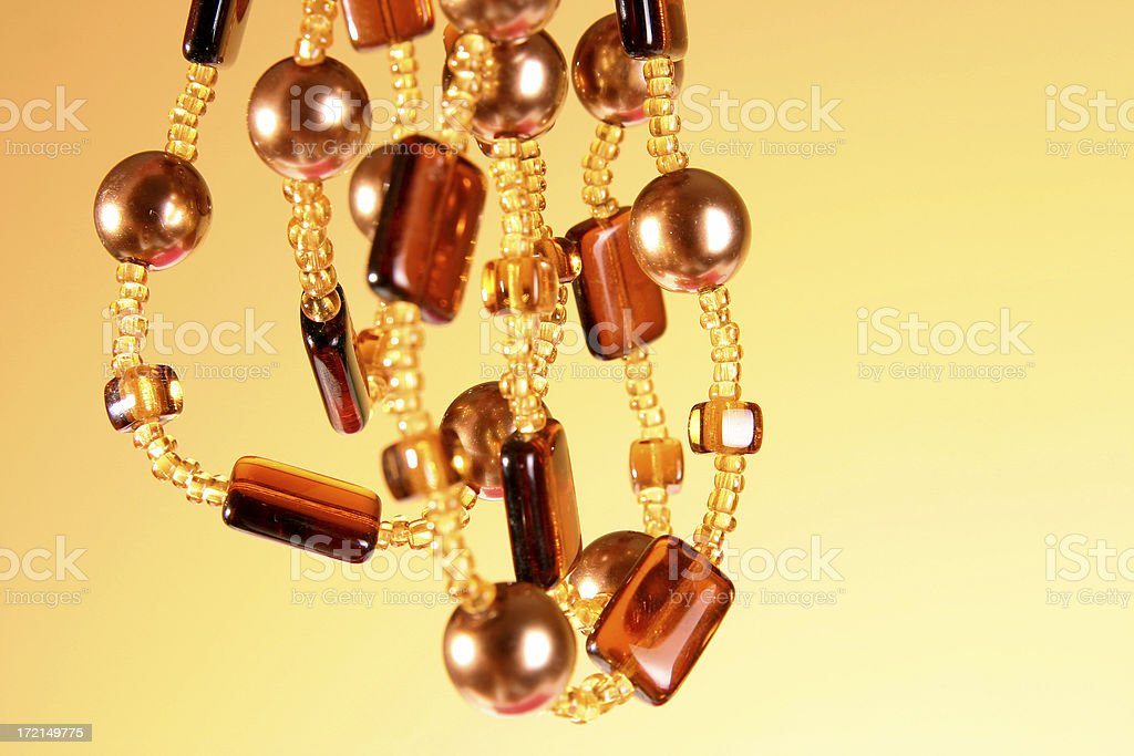 Beautiful beads royalty-free stock photo