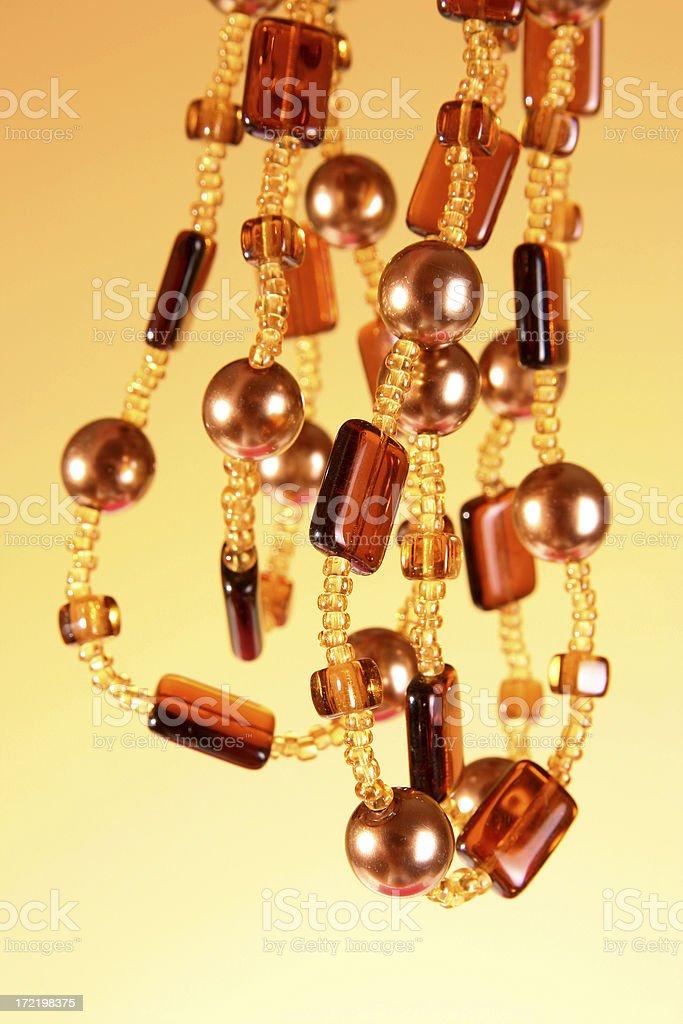 Beautiful beads royalty-free stock photo