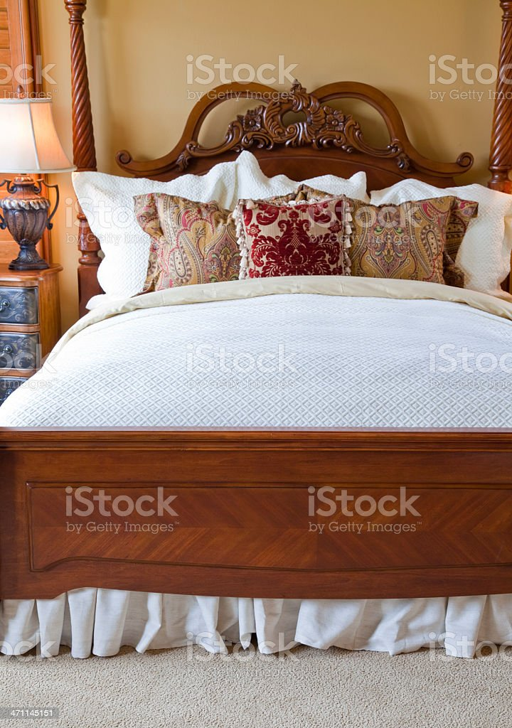 Beautiful Bedroom royalty-free stock photo