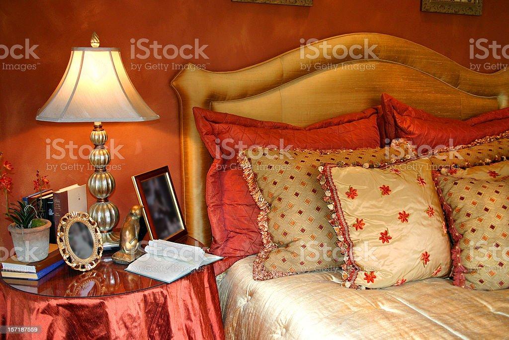 Beautiful Bedside royalty-free stock photo