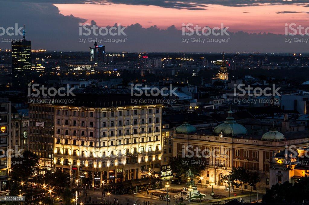 beautiful Belgrade stock photo