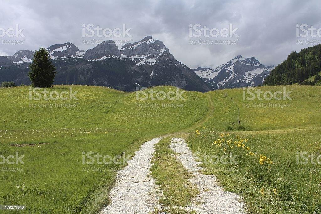 Beautiful Bernese Oberland royalty-free stock photo